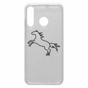 Etui na Huawei P30 Lite Jumping horse