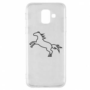 Etui na Samsung A6 2018 Jumping horse