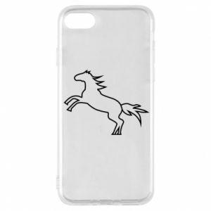 Etui na iPhone 8 Jumping horse