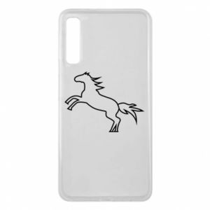 Etui na Samsung A7 2018 Jumping horse