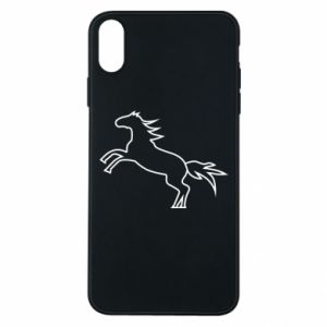Etui na iPhone Xs Max Jumping horse