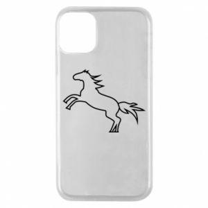 Etui na iPhone 11 Pro Jumping horse