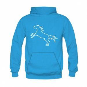 Bluza z kapturem dziecięca Jumping horse