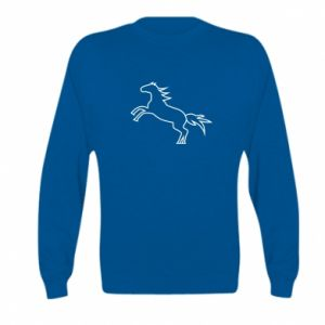 Bluza dziecięca Jumping horse