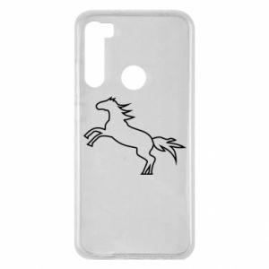 Etui na Xiaomi Redmi Note 8 Jumping horse