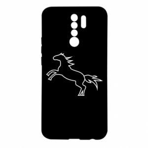 Etui na Xiaomi Redmi 9 Jumping horse