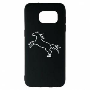 Etui na Samsung S7 EDGE Jumping horse