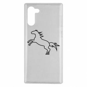 Etui na Samsung Note 10 Jumping horse
