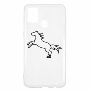 Etui na Samsung M31 Jumping horse