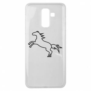 Etui na Samsung J8 2018 Jumping horse