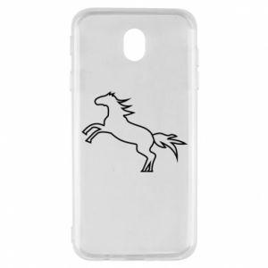 Etui na Samsung J7 2017 Jumping horse