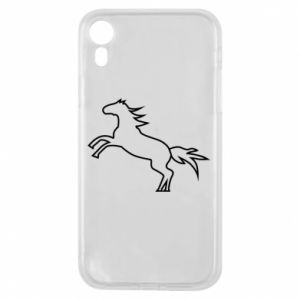 Etui na iPhone XR Jumping horse