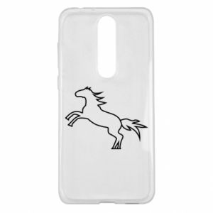 Etui na Nokia 5.1 Plus Jumping horse