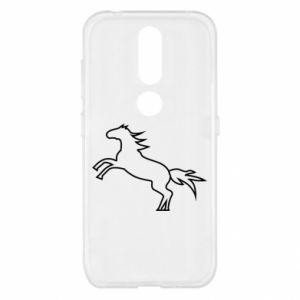 Etui na Nokia 4.2 Jumping horse