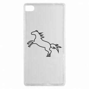 Etui na Huawei P8 Jumping horse