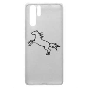 Etui na Huawei P30 Pro Jumping horse