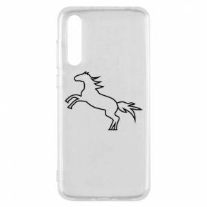 Etui na Huawei P20 Pro Jumping horse