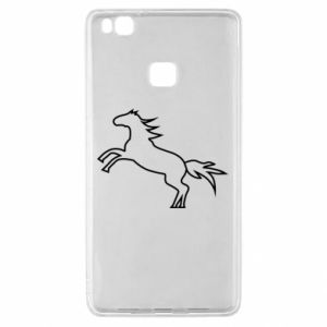Etui na Huawei P9 Lite Jumping horse