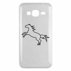 Etui na Samsung J3 2016 Jumping horse