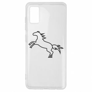 Etui na Samsung A41 Jumping horse