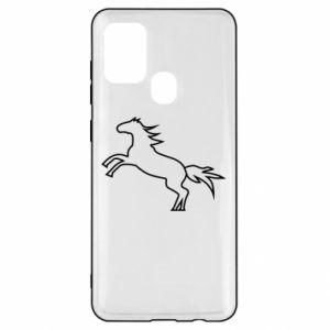 Etui na Samsung A21s Jumping horse
