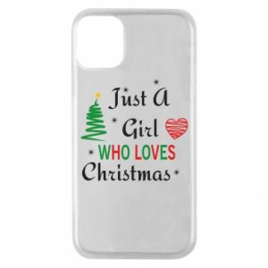 Etui na iPhone 11 Pro Just a girl who love Christmas