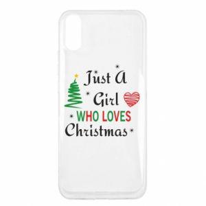 Etui na Xiaomi Redmi 9a Just a girl who love Christmas