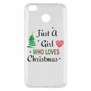 Etui na Xiaomi Redmi 4X Just a girl who love Christmas