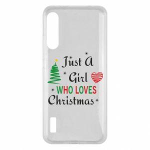 Etui na Xiaomi Mi A3 Just a girl who love Christmas