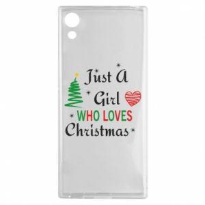 Etui na Sony Xperia XA1 Just a girl who love Christmas