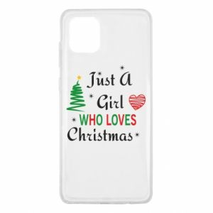 Etui na Samsung Note 10 Lite Just a girl who love Christmas