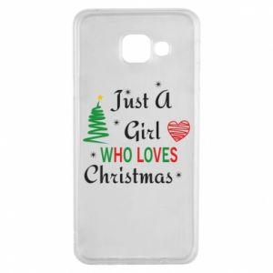 Etui na Samsung A3 2016 Just a girl who love Christmas