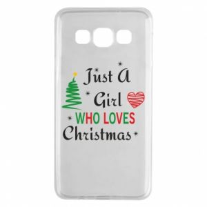 Etui na Samsung A3 2015 Just a girl who love Christmas