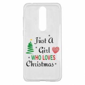 Etui na Nokia 5.1 Plus Just a girl who love Christmas