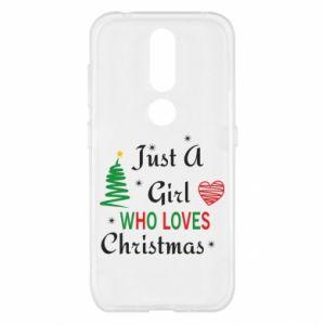 Etui na Nokia 4.2 Just a girl who love Christmas