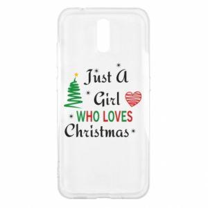 Etui na Nokia 2.3 Just a girl who love Christmas