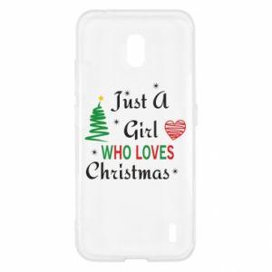 Etui na Nokia 2.2 Just a girl who love Christmas