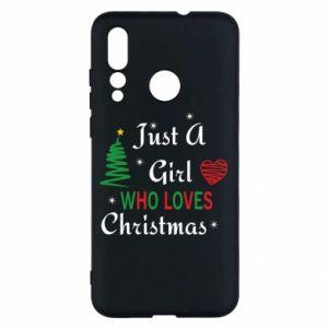 Etui na Huawei Nova 4 Just a girl who love Christmas