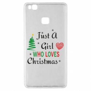 Etui na Huawei P9 Lite Just a girl who love Christmas