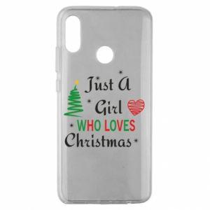 Etui na Huawei Honor 10 Lite Just a girl who love Christmas