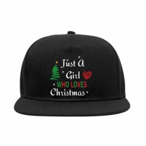 SnapBack Just a girl who love Christmas