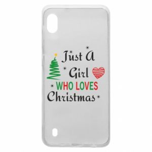 Etui na Samsung A10 Just a girl who love Christmas