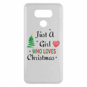 Etui na LG G6 Just a girl who love Christmas