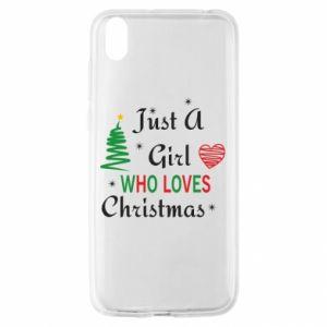 Etui na Huawei Y5 2019 Just a girl who love Christmas
