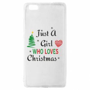 Etui na Huawei P 8 Lite Just a girl who love Christmas