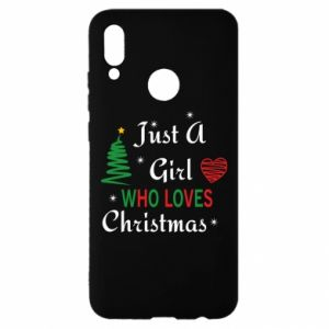 Etui na Huawei P Smart 2019 Just a girl who love Christmas