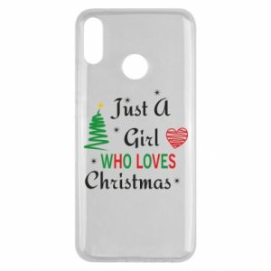 Etui na Huawei Y9 2019 Just a girl who love Christmas