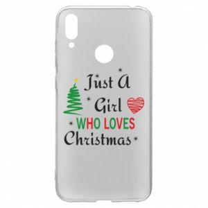 Etui na Huawei Y7 2019 Just a girl who love Christmas