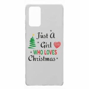 Etui na Samsung Note 20 Just a girl who love Christmas