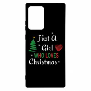 Etui na Samsung Note 20 Ultra Just a girl who love Christmas